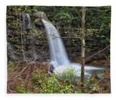 West Virginia Highway 16 Treat Fleece Blanket