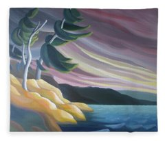 West Wind Fleece Blanket