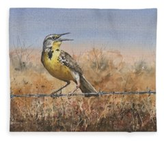Meadowlark Fleece Blankets