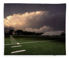 Westerville North Warrior Stadium Fleece Blanket