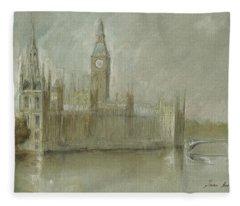 Thames Fleece Blankets