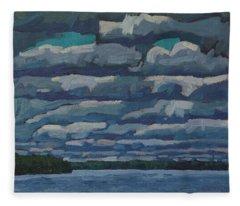 Westport Stratocumulus Virga Fleece Blanket