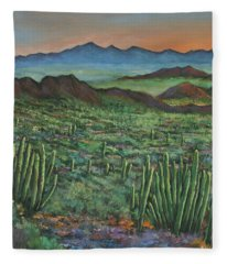 Westward Fleece Blanket