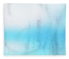 Wet Glass Fleece Blanket