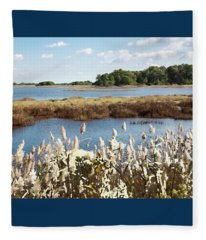 Wetlands 3 - Fleece Blanket