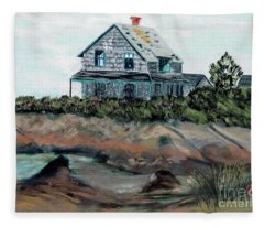 Whales Of August House Fleece Blanket