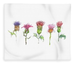 What Is It About A Thistle Fl006 Fleece Blanket