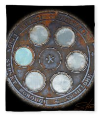 Wheel 2 Fleece Blanket