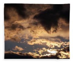 When Heaven Speaks Fleece Blanket