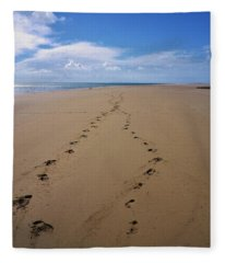 When Our Paths Crossed Fleece Blanket
