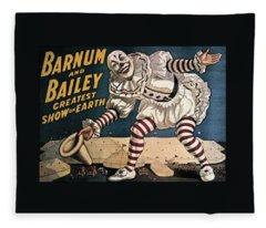When The Show Was Great Clown Fleece Blanket
