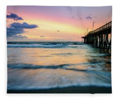 When The Tides Return Fleece Blanket