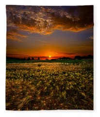 When Time Stood Still Fleece Blanket