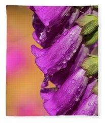 Where Color Grows Fleece Blanket