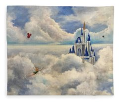 Where Dreams Come True Fleece Blanket