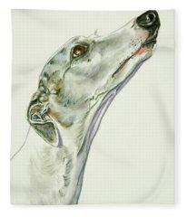 Whippet Fleece Blanket
