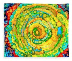 Whirling Fleece Blanket
