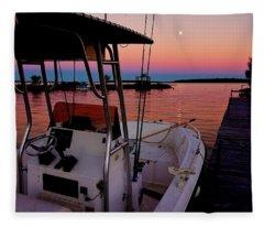 Whiskey Bay Fleece Blanket