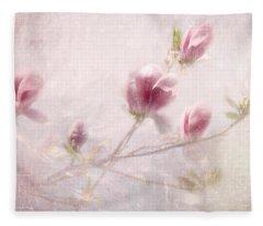 Whisper Of Spring Fleece Blanket