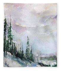 Whistler  Fleece Blanket