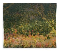 White Mountain Fleece Blanket