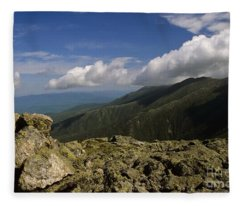 White Mountain National Forest - New Hampshire Usa Fleece Blanket