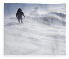 White Mountains New Hampshire - Extreme Weather Fleece Blanket