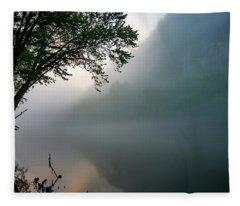 White River Morning Fleece Blanket