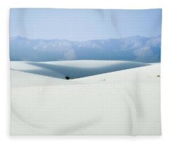 White Sands, New Mexico Fleece Blanket