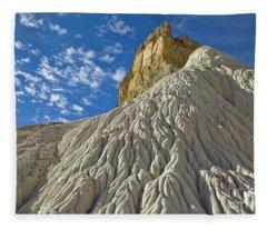 White Sandstone Grand Staircase Fleece Blanket