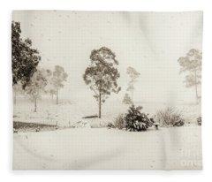 White Washed Fleece Blanket