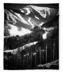 Whiteface Mountain Fleece Blanket