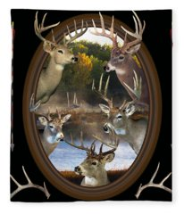 Whitetail Dreams Fleece Blanket