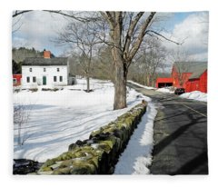 Whittier Birthplace Fleece Blanket