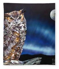 Who Doesn't Love The Night Fleece Blanket