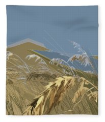 Who Has Seen The Wind? Fleece Blanket