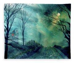 Whorlton Castle Fleece Blanket