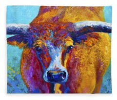 Longhorns Fleece Blankets
