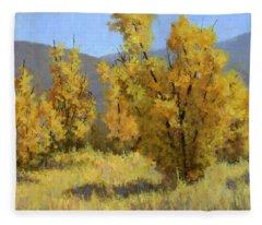 Wild Autumn Fleece Blanket
