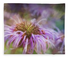 Wild Bergamot Fleece Blanket