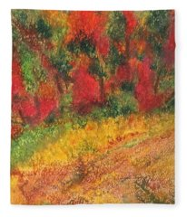 Wild Fire Fleece Blanket