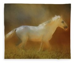 Wild Horse Run Fleece Blanket