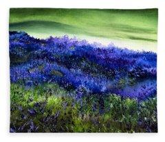 Wild Lavender Fleece Blanket