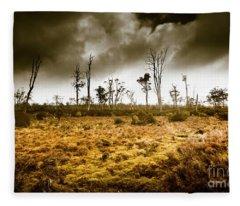 Wild Moors  Fleece Blanket