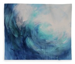 Wild Ocean Fleece Blanket