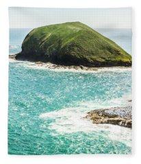 Wild Western Waters Fleece Blanket