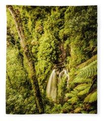 Wilderness Falls Fleece Blanket