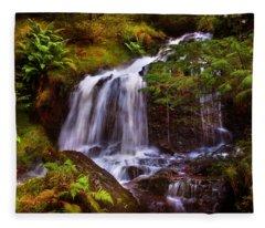 Wilderness. Rest And Be Thankful. Scotland Fleece Blanket