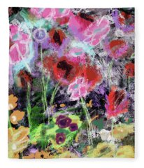 Wildest Flowers 2- Art By Linda Woods Fleece Blanket