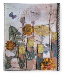 Wildflower Honey Fleece Blanket